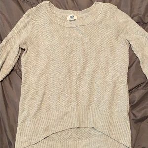 Old navy knit sweater!
